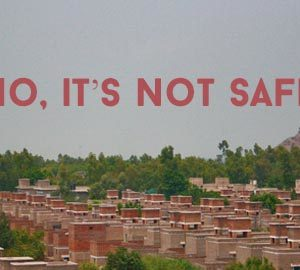 Rabwah – No, it's not safe