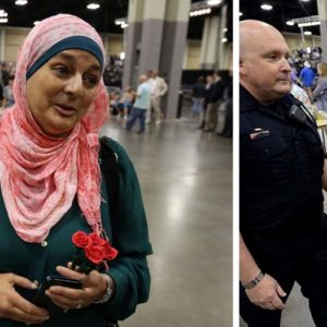 Trump vs Muslim American Woman & The First Amendment