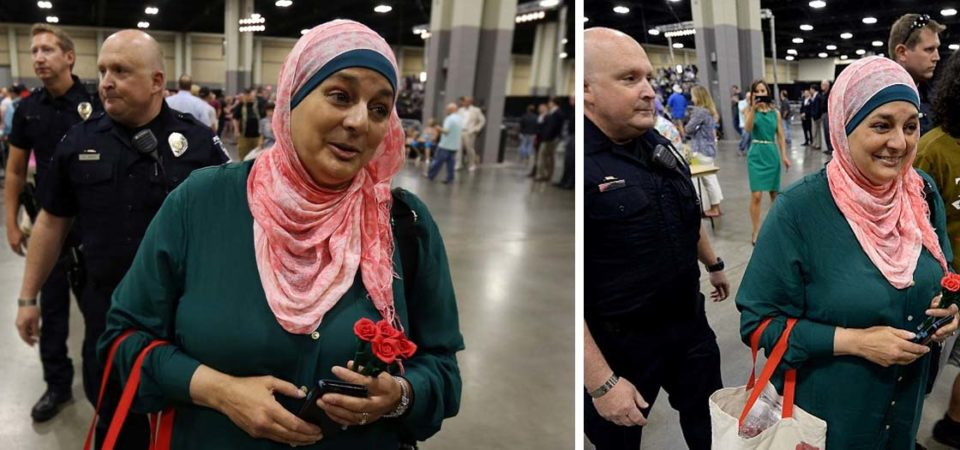Trump vs Muslim American Woman & The First Amendment