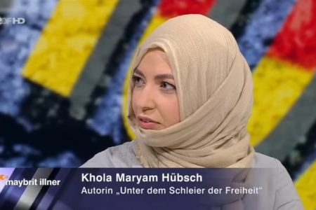 Khola Maryam Hübsch on maybrit illner – Who belongs to Germany ?