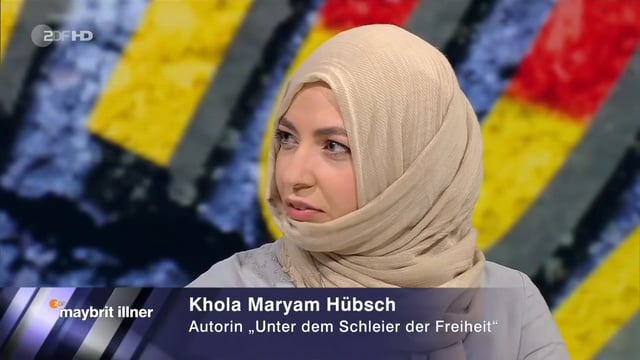 Khola Maryam Hübsch on maybrit illner – Who belongs to Germany ?