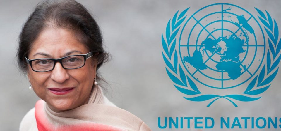 Iran opposes appointment of 'Qadiani' Asma Jahangir as UN Rapporteur on Human Rights