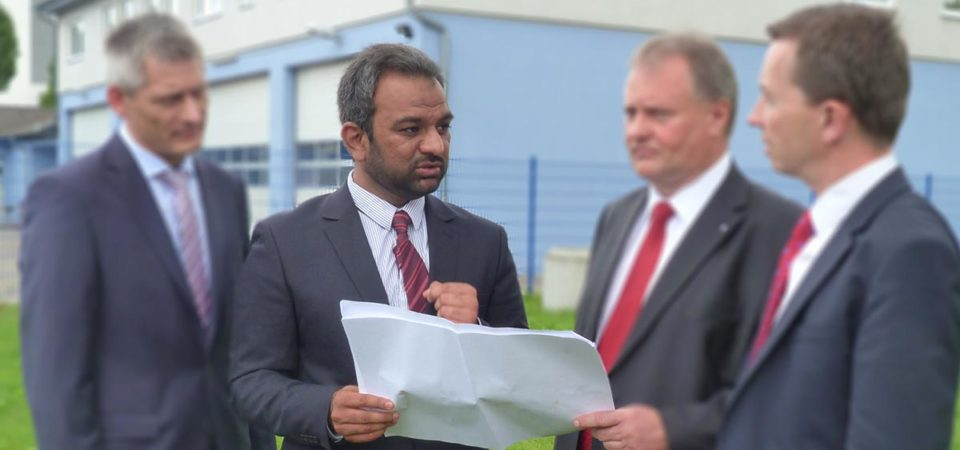 Erfurt Mosque Controversy:  Ahmadiyya spokesperson attacked
