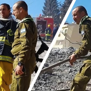 Israelis and Palestinians come together to fight wildfires
