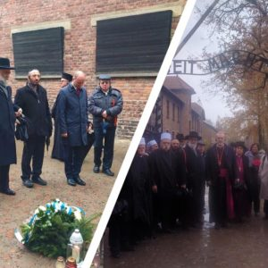 Israeli religious leaders visit Auschwitz