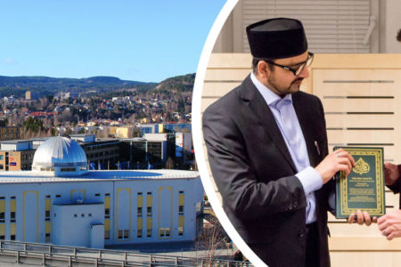 Openly gay Ambassador welcomed to Scandinavia's largest Mosque