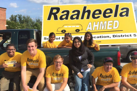 Pakistani-Indian-American girl makes a mark in U.S. Local Elections