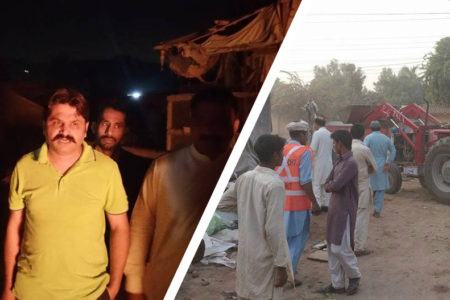 Illegal settlers clash with Police in Rabwah