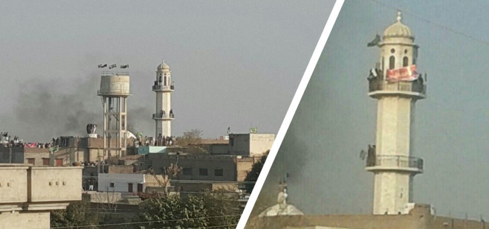 Muslim mob attacks Mosque in Pakistan